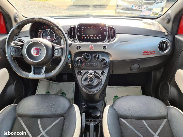 Fiat 500 500s 1.2 69 09/2016 42000kms CUIR SPORT GPS BLUETOOTH  - 5