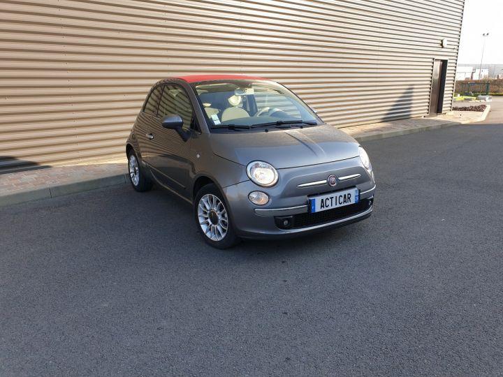 Fiat 500 c cabriolet ii 1.2 8v 69 lounge bv5 i Gris Anthracite Occasion - 2