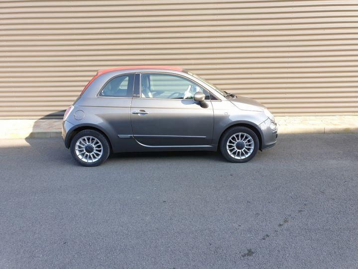 Fiat 500 c cabriolet ii 1.2 8v 69 lounge bv5 i Gris Anthracite Occasion - 3