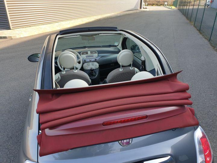 Fiat 500 c cabriolet ii 1.2 8v 69 lounge bv5 i Gris Anthracite Occasion - 5