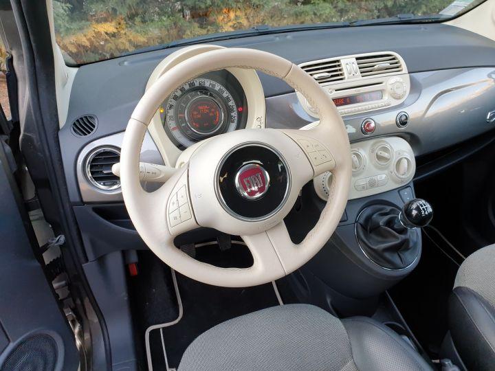 Fiat 500 c cabriolet ii 1.2 8v 69 lounge bv5 i Gris Anthracite Occasion - 10