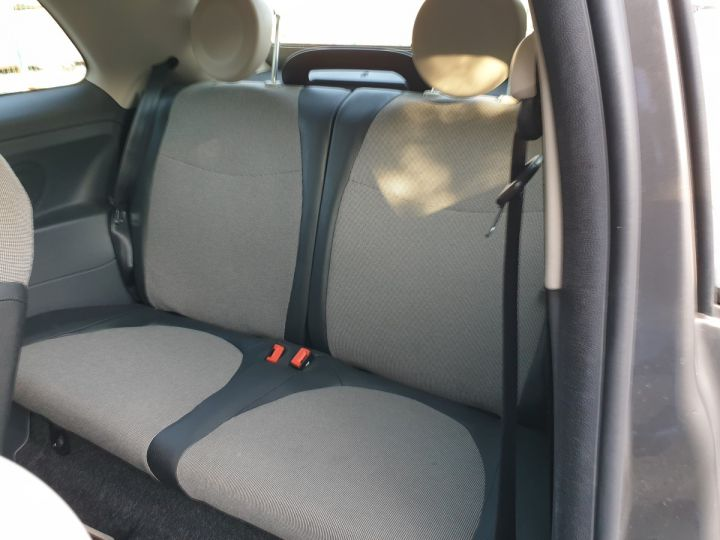 Fiat 500 c cabriolet ii 1.2 8v 69 lounge bv5 i Gris Anthracite Occasion - 11