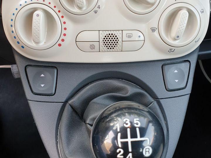 Fiat 500 c cabriolet ii 1.2 8v 69 lounge bv5 i Gris Anthracite Occasion - 12