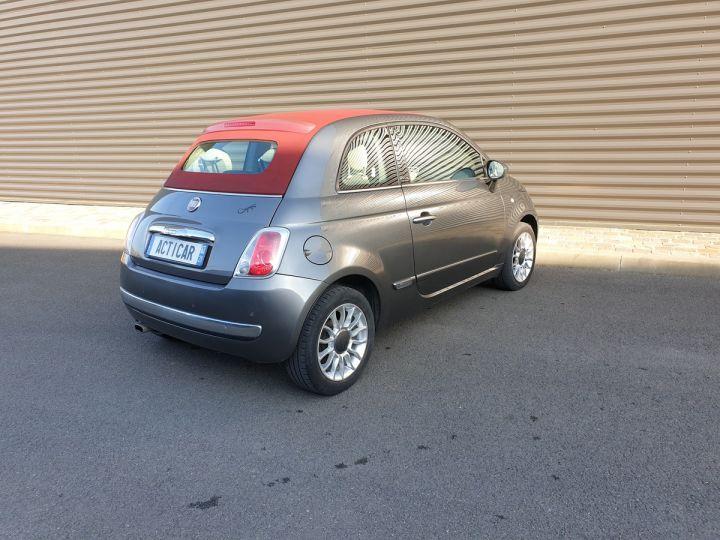 Fiat 500 c cabriolet ii 1.2 8v 69 lounge bv5 i Gris Anthracite Occasion - 19