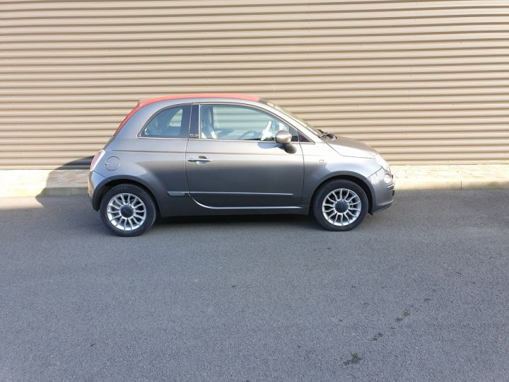 Fiat 500 c cabriolet ii 1.2 8v 69 lounge bv5 iii Gris Anthracite Occasion - 3