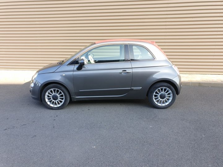 Fiat 500 c cabriolet ii 1.2 8v 69 lounge bv5 iii Gris Anthracite Occasion - 4