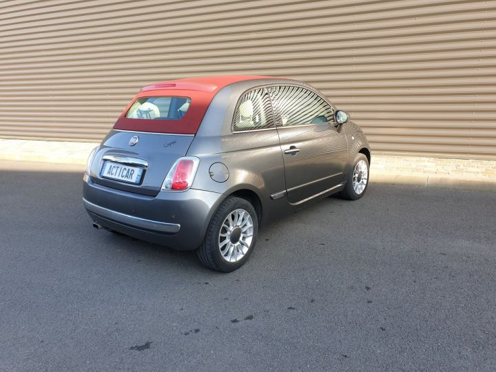 Fiat 500 c cabriolet ii 1.2 8v 69 lounge bv5 iii Gris Anthracite Occasion - 19