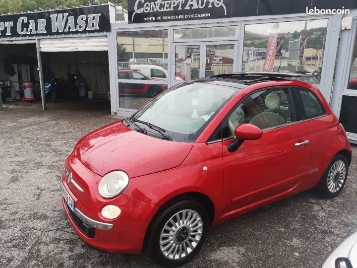 Fiat 500 LOUNGE ROUGE METAL  Occasion - 2