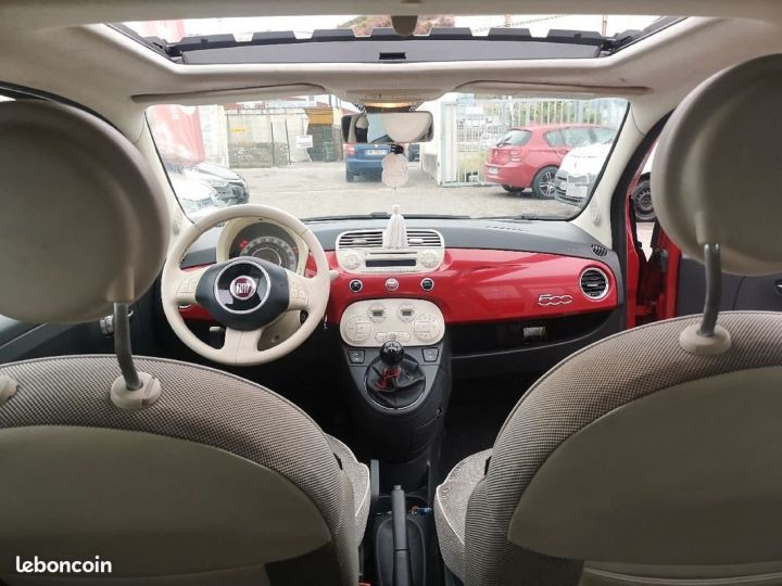 Fiat 500 LOUNGE ROUGE METAL  Occasion - 4