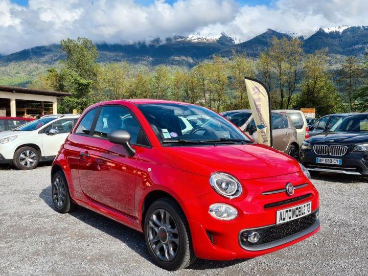 Fiat 500 s 1.2 69 09/2016 42000kms CUIR SPORT GPS BLUETOOTH  - 3