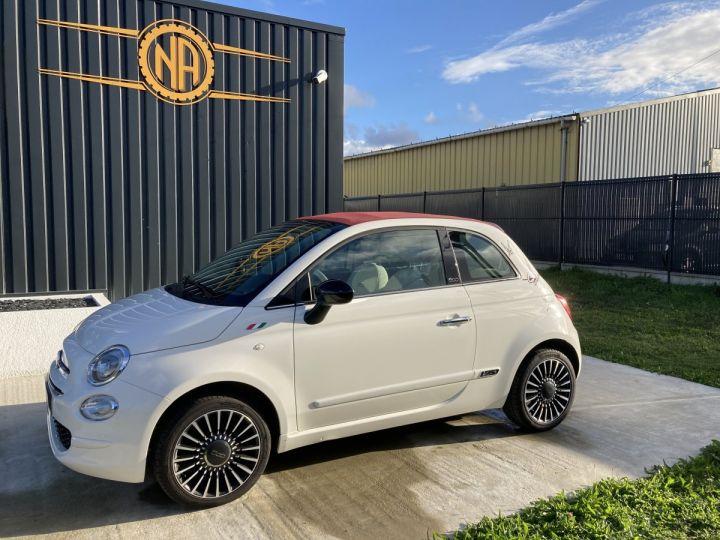Fiat 500C FIAT 500 C 1,2 8V 69 CH LOUNGE  BLANC BOSSA NOVA  - 6