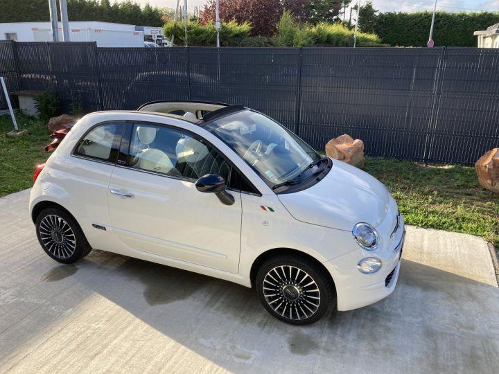 Fiat 500C FIAT 500 C 1,2 8V 69 CH LOUNGE  BLANC BOSSA NOVA  - 9