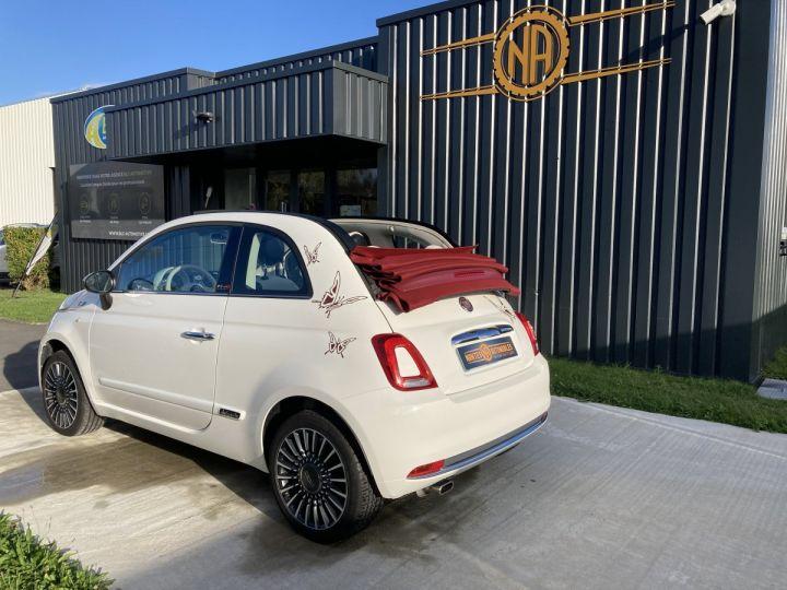 Fiat 500C FIAT 500 C 1,2 8V 69 CH LOUNGE  BLANC BOSSA NOVA  - 13