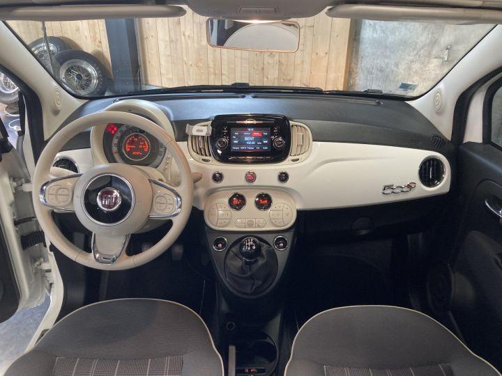 Fiat 500C FIAT 500 C 1,2 8V 69 CH LOUNGE  BLANC BOSSA NOVA  - 16