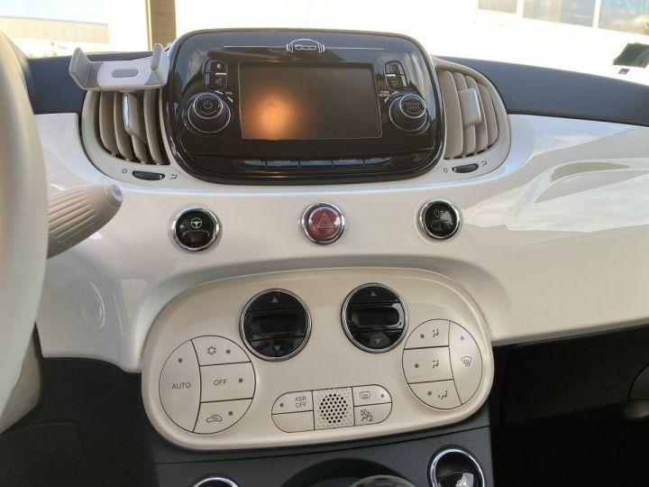 Fiat 500C FIAT 500 C 1,2 8V 69 CH LOUNGE  BLANC BOSSA NOVA  - 18