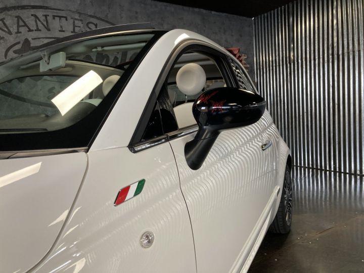 Fiat 500C FIAT 500 C 1,2 8V 69 CH LOUNGE  BLANC BOSSA NOVA  - 21