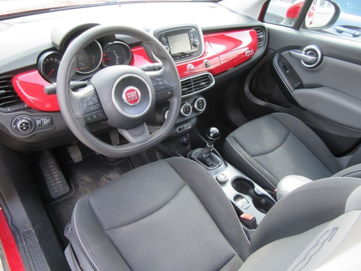Fiat 500X 1.6 MULTIJET 16V 120CH POPSTAR ROUGE Occasion - 2