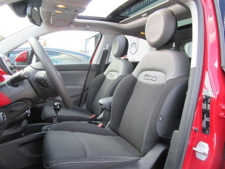 Fiat 500X 1.6 MULTIJET 16V 120CH POPSTAR ROUGE Occasion - 4