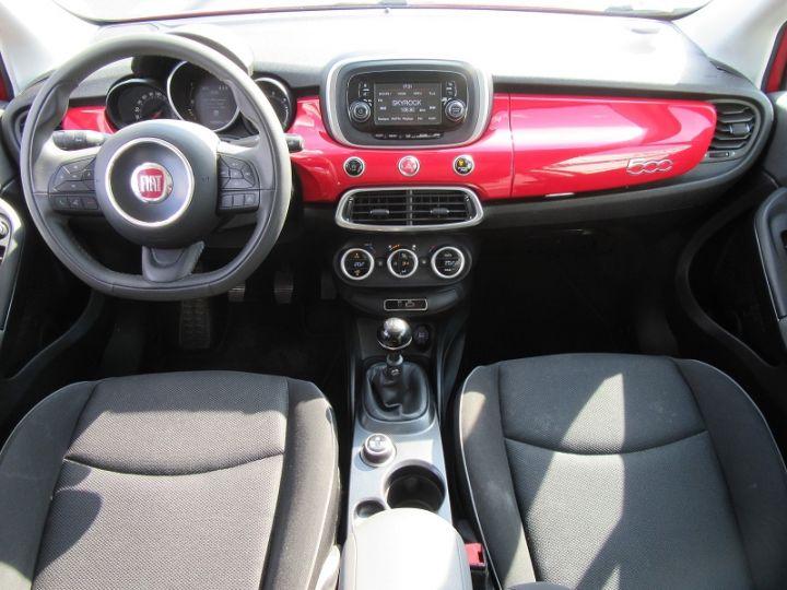 Fiat 500X 1.6 MULTIJET 16V 120CH POPSTAR ROUGE Occasion - 10