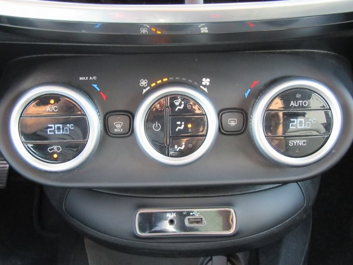 Fiat 500X 1.6 MULTIJET 16V 120CH POPSTAR ROUGE Occasion - 12