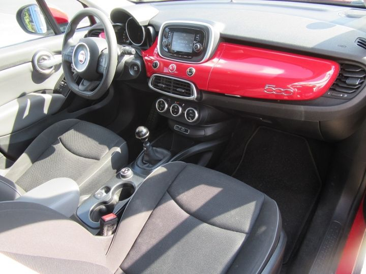 Fiat 500X 1.6 MULTIJET 16V 120CH POPSTAR ROUGE Occasion - 18