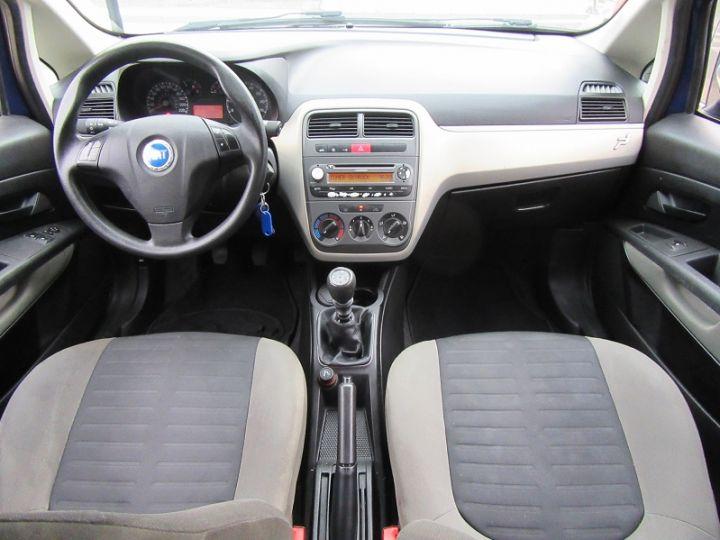 Fiat GRANDE PUNTO 1.4 8V 77CH COLLEZIONE 3P BLEU Occasion - 8