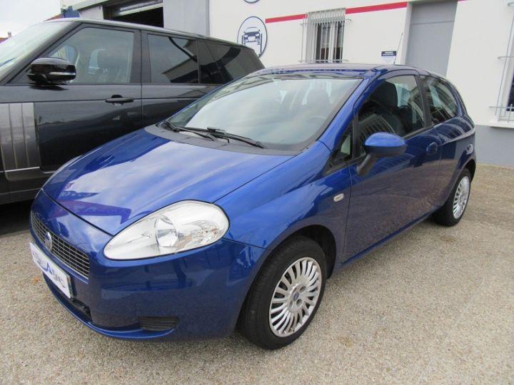 Fiat GRANDE PUNTO 1.4 8V 77CH COLLEZIONE 3P BLEU Occasion - 9