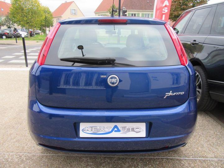 Fiat GRANDE PUNTO 1.4 8V 77CH COLLEZIONE 3P BLEU Occasion - 10