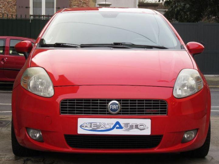 Fiat GRANDE PUNTO 1.9 MULTIJET 8V 130CH SPORT 3P ROUGE Occasion - 6