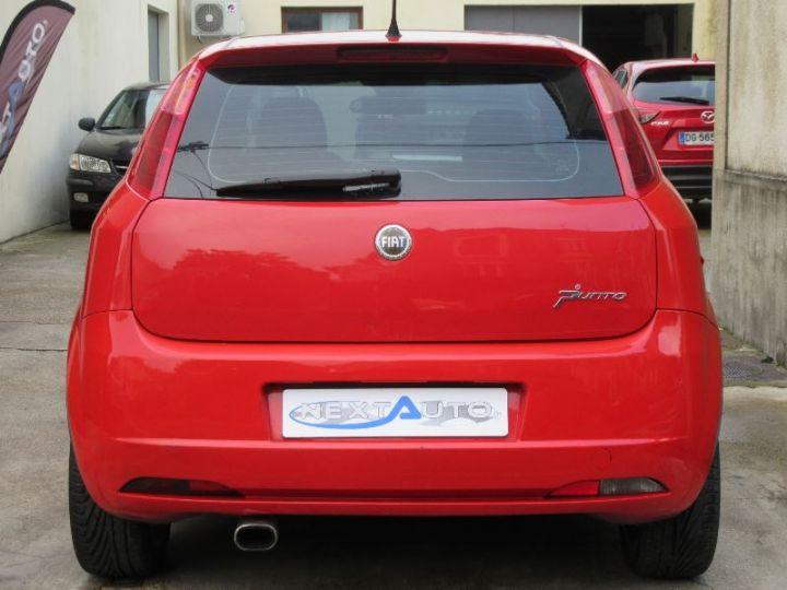 Fiat GRANDE PUNTO 1.9 MULTIJET 8V 130CH SPORT 3P ROUGE Occasion - 7