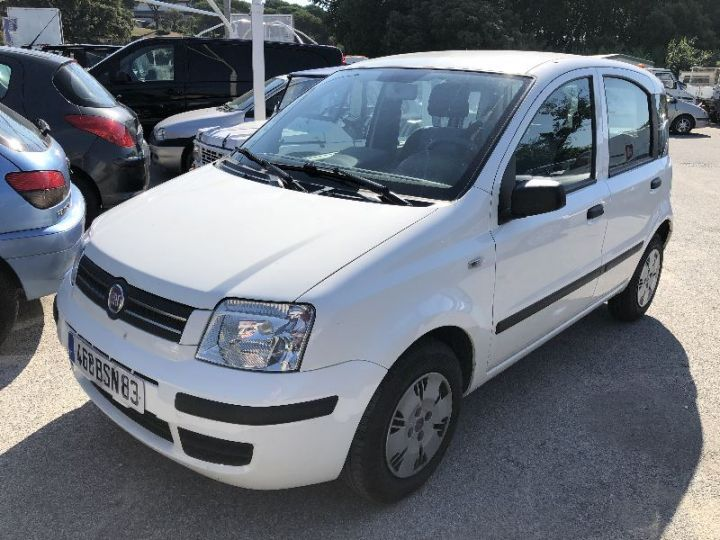 Fiat PANDA 1.2 8V 60CH DYNAMIC BLANC - 1