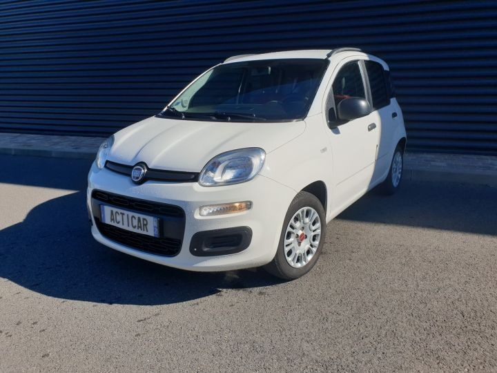 Fiat Panda 3 iii 1.2 69 easy Blanc Occasion - 17
