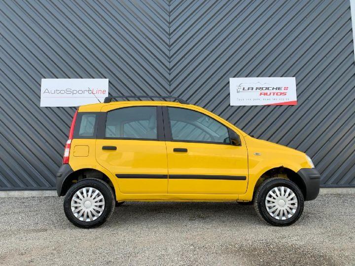 Fiat PANDA 4X4 1.2 TVA récupérable Jaune - 4