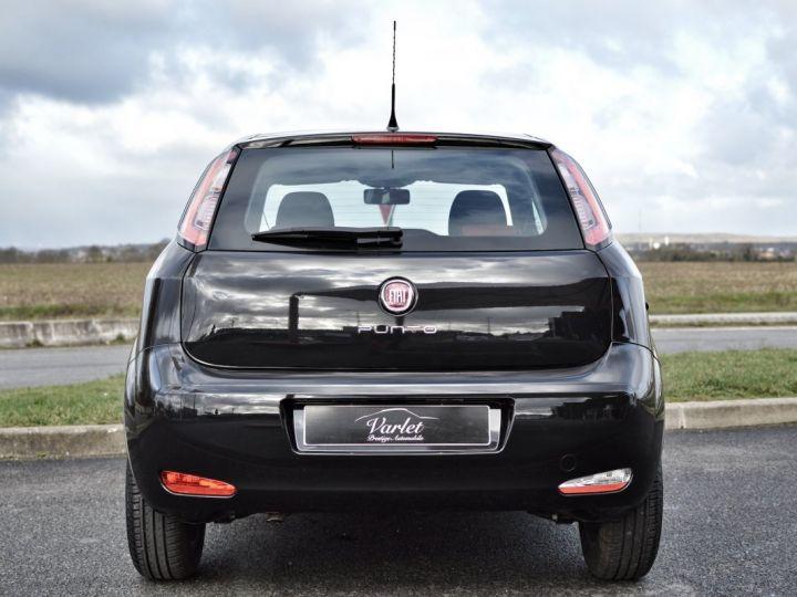 Fiat PUNTO AFFAIRE À SAISIR FIAT PUNTO 1.4 ESSENCE 105 1ère main BLUETOOTH CLIM PARFAIT ÉTAT 7000KMS RARE NOIR - 5