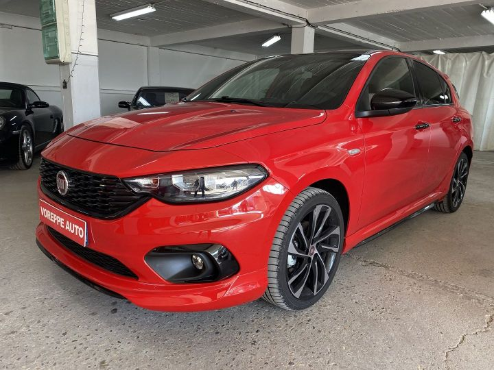 Fiat TIPO 1.6 MULTIJET 120CH S-DESIGN S/S DCT MY19 5P Rouge - 1