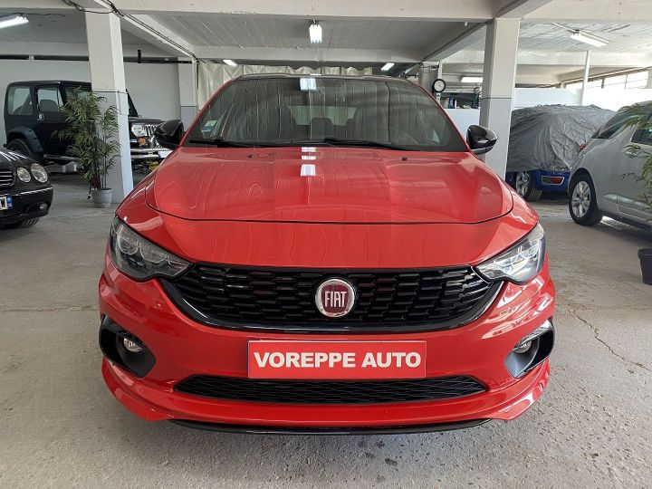 Fiat TIPO 1.6 MULTIJET 120CH S-DESIGN S/S DCT MY19 5P Rouge - 2