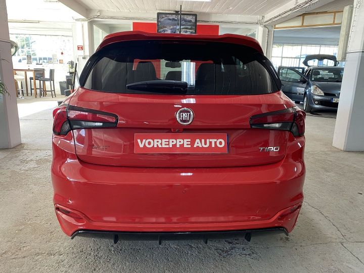 Fiat TIPO 1.6 MULTIJET 120CH S-DESIGN S/S DCT MY19 5P Rouge - 5