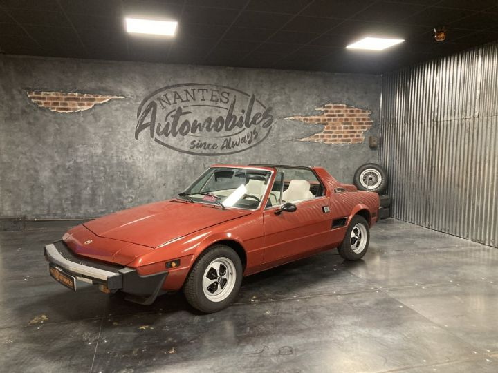 Fiat X 1/9 5 SPEED ROUGE METALLISE - 1