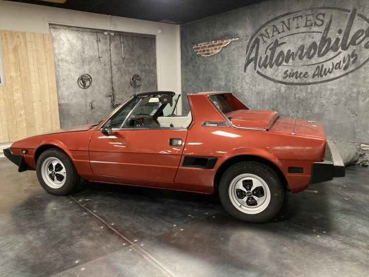 Fiat X 1/9 5 SPEED ROUGE METALLISE - 3
