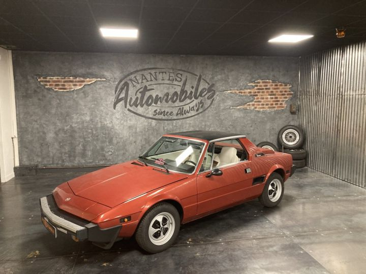 Fiat X 1/9 5 SPEED ROUGE METALLISE - 5