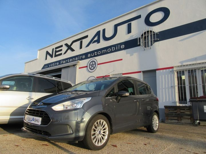 Ford B-MAX 1.0 SCTI 125CH ECOBOOST STOP&START TITANIUM Gris Fonce Occasion - 1