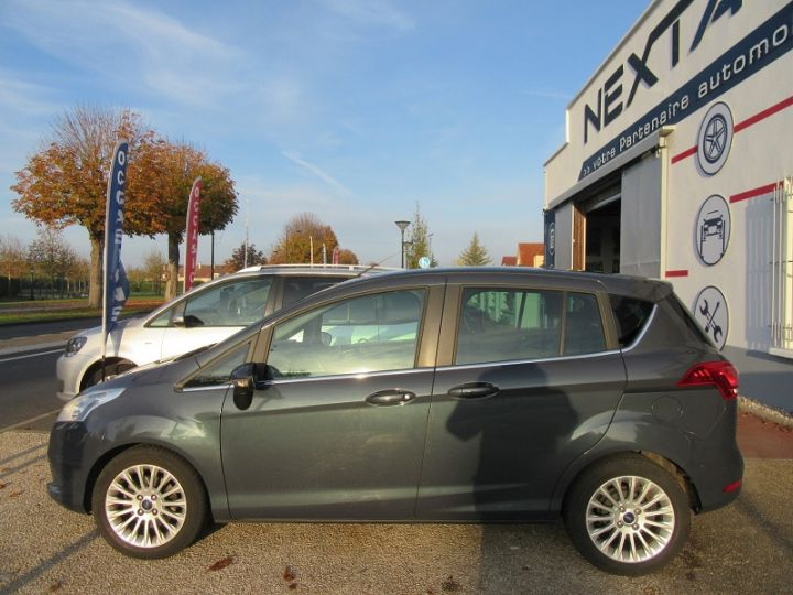 Ford B-MAX 1.0 SCTI 125CH ECOBOOST STOP&START TITANIUM Gris Fonce Occasion - 9