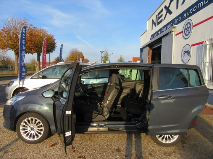 Ford B-MAX 1.0 SCTI 125CH ECOBOOST STOP&START TITANIUM Gris Fonce Occasion - 19