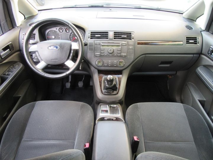 Ford C-MAX 1.6 TDCI 110CH GHIA GRIS CLAIR Occasion - 8