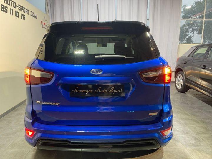 Ford Ecosport 1.0 ECOBOOST 140CH S&S BVM6 ST-LINE BLEU FONCE - 5