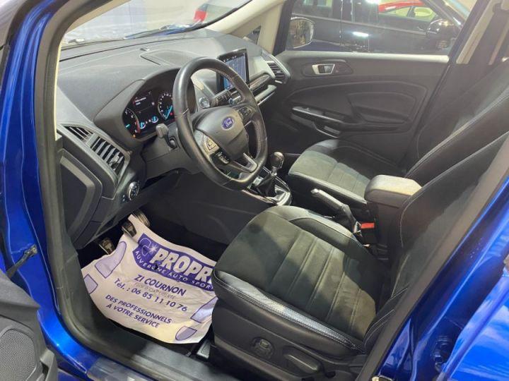 Ford Ecosport 1.0 ECOBOOST 140CH S&S BVM6 ST-LINE BLEU FONCE - 7