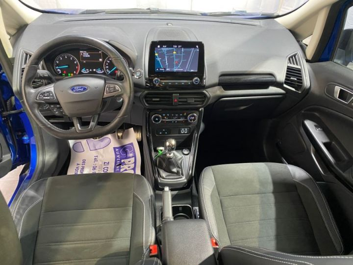 Ford Ecosport 1.0 ECOBOOST 140CH S&S BVM6 ST-LINE BLEU FONCE - 9