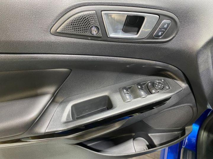 Ford Ecosport 1.0 ECOBOOST 140CH S&S BVM6 ST-LINE BLEU FONCE - 10