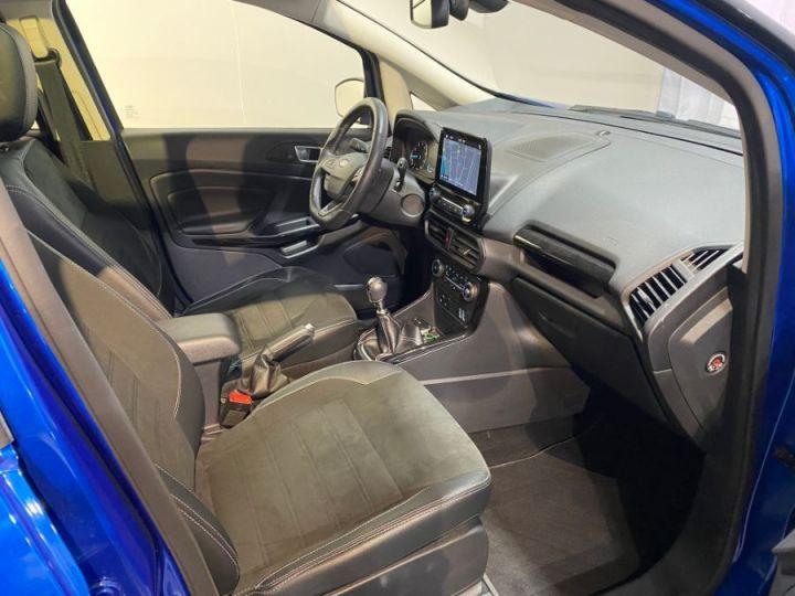 Ford Ecosport 1.0 ECOBOOST 140CH S&S BVM6 ST-LINE BLEU FONCE - 14