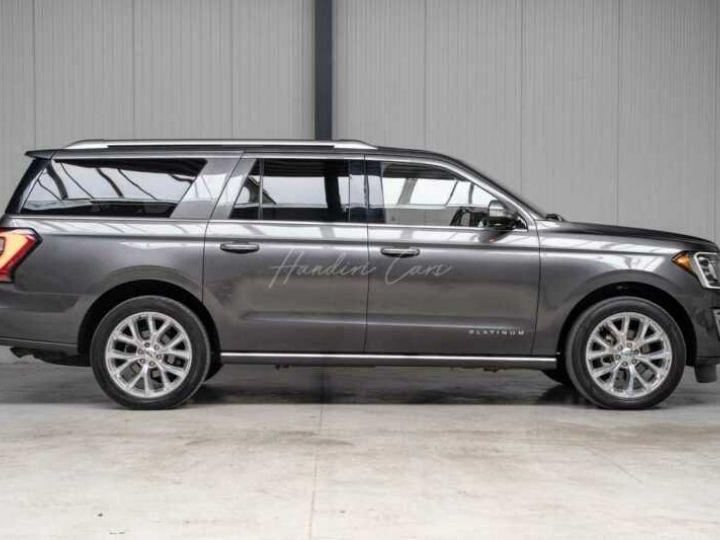 Ford Expedition Max Platinum **Exclusivité** 2019 V6 3.5 Ecoboost 405CV 8pl / FRAIS INCLUS Gris Foncé - 15